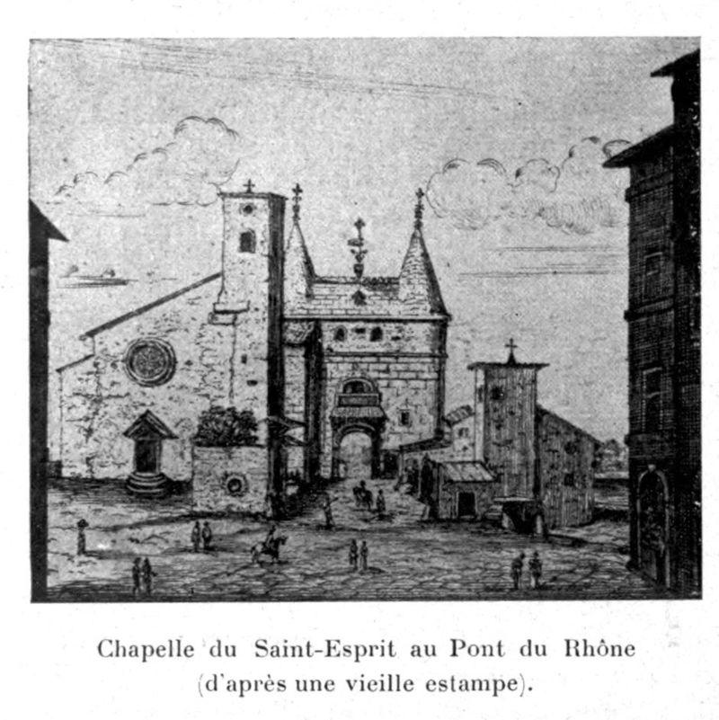 ND-de-Fourvière - LYON XIXeme  (revers  la chapelle saint esprit) 800px-10