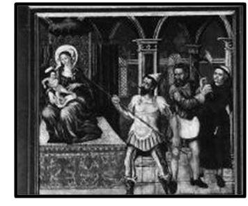 scene de la crucifixion - nuestra de Cambron XVI-XVII (R.M. SXVII-O522) (AM) Captur30