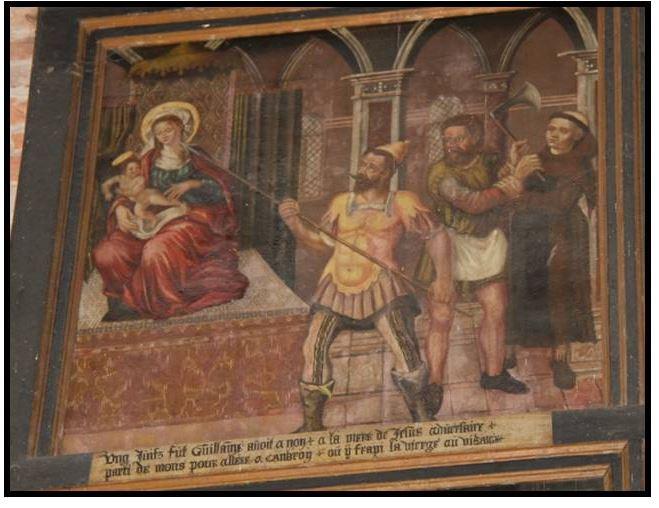 scene de la crucifixion - nuestra de Cambron XVI-XVII (R.M. SXVII-O522) (AM) Captur31