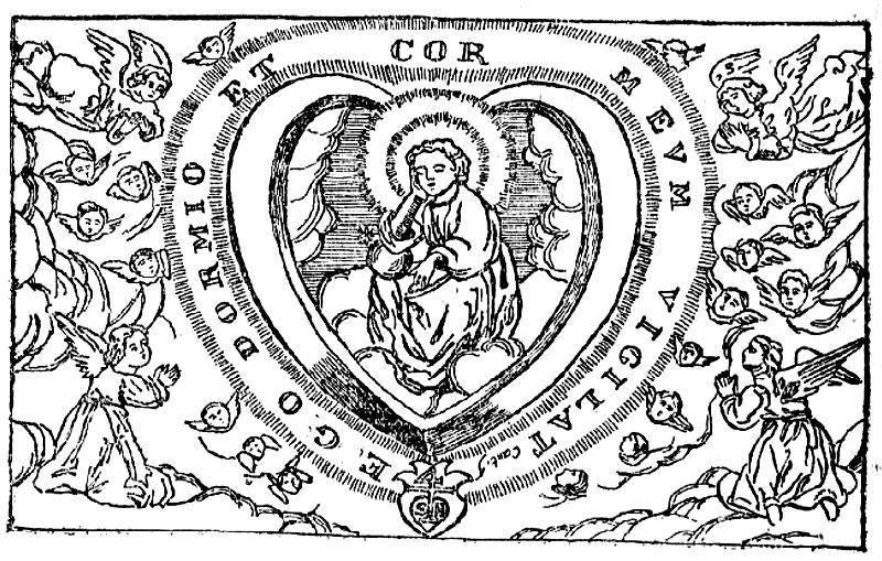 crucificado y oracion-nino Jésus dormido : acorazonada XVII Jesus_11