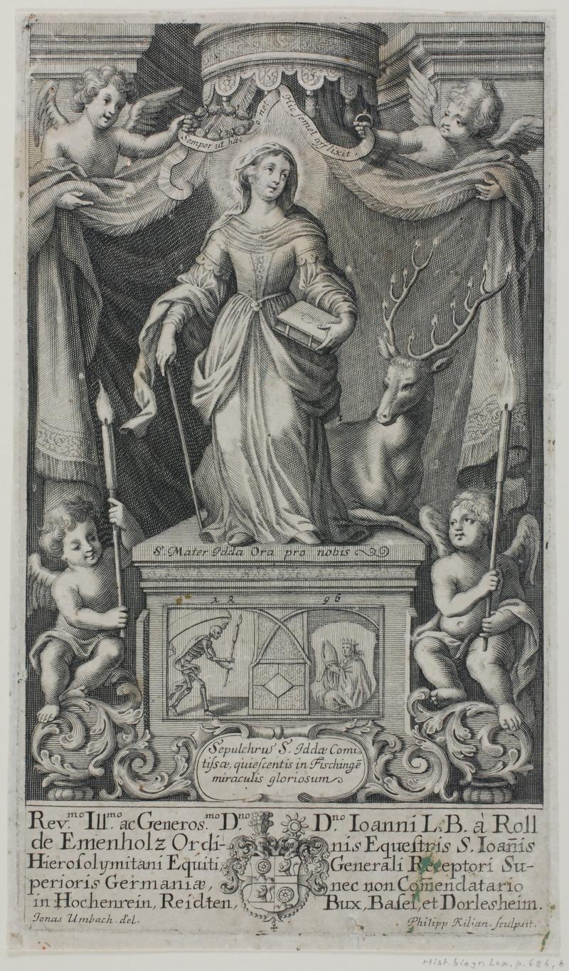 San Benito- Ida du Toggenburg (monastere de Fischingen) XVII-XVIII ? Lossy-10