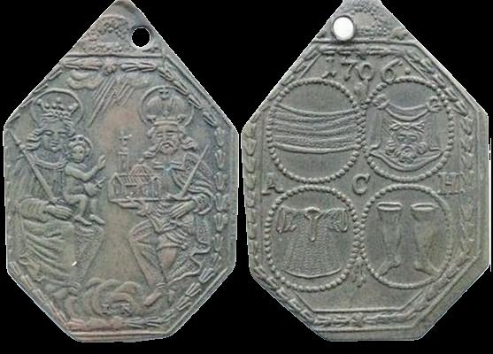 medalla con fecha 1706 V_c-re10