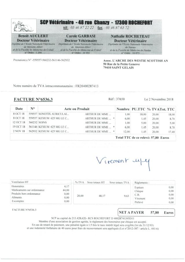 ARTHUR WESTIE NE EN 11/2005 DEPT 17 EN FA  - Page 3 Numzo177