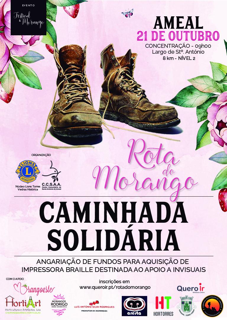 2018/10/21 - Caminhada Solidária no Ameal Cartaz10