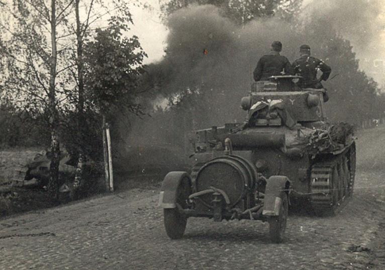 7e Pz Div en mai 1940; Rommel en balade dans les Ardennes Pz_38t10