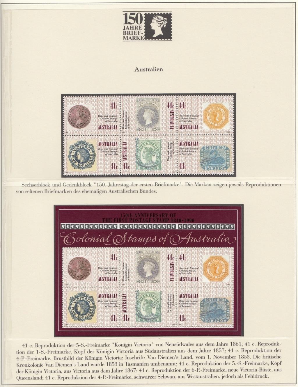180 Jahre Briefmarke 150-1010