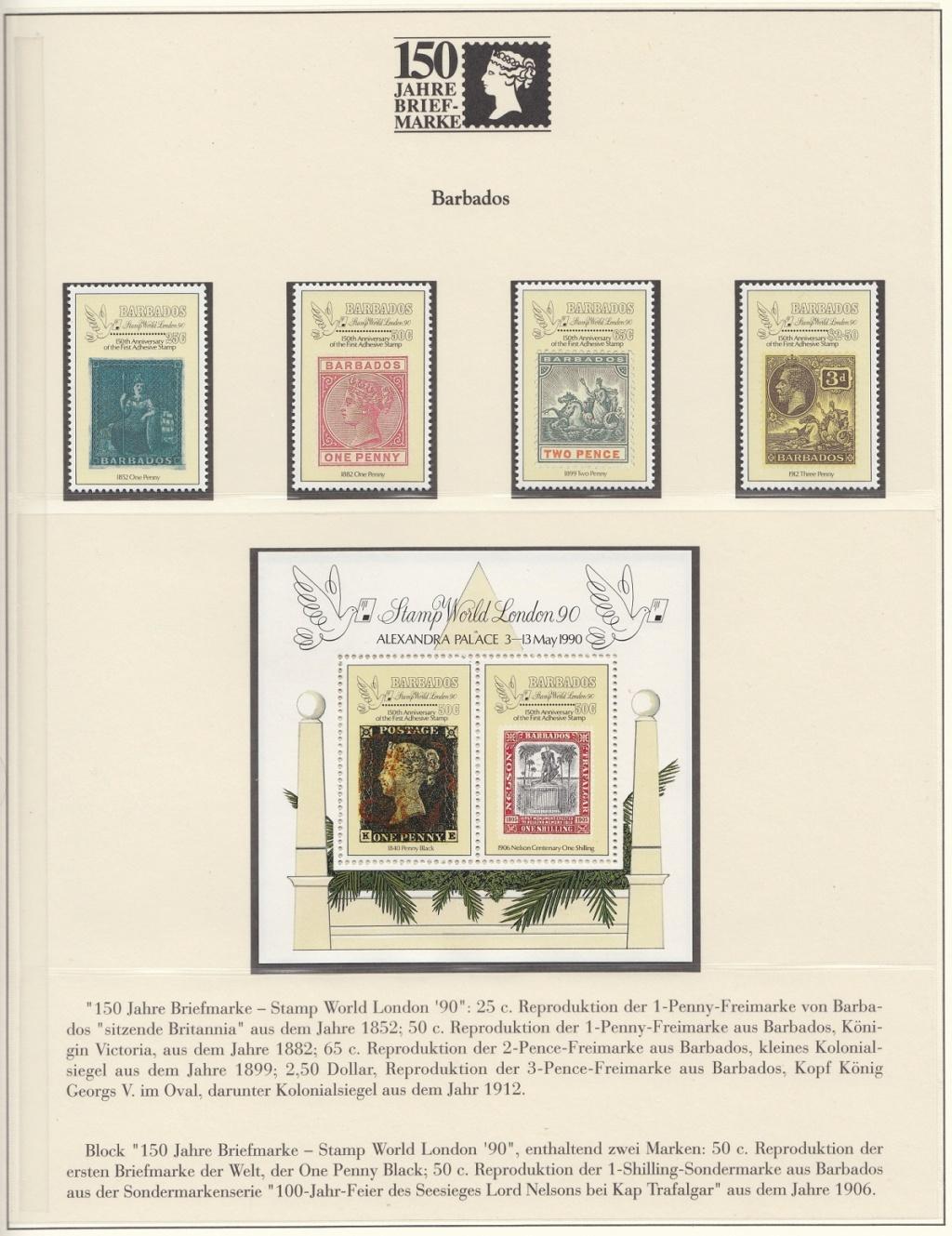 180 Jahre Briefmarke 150-1210
