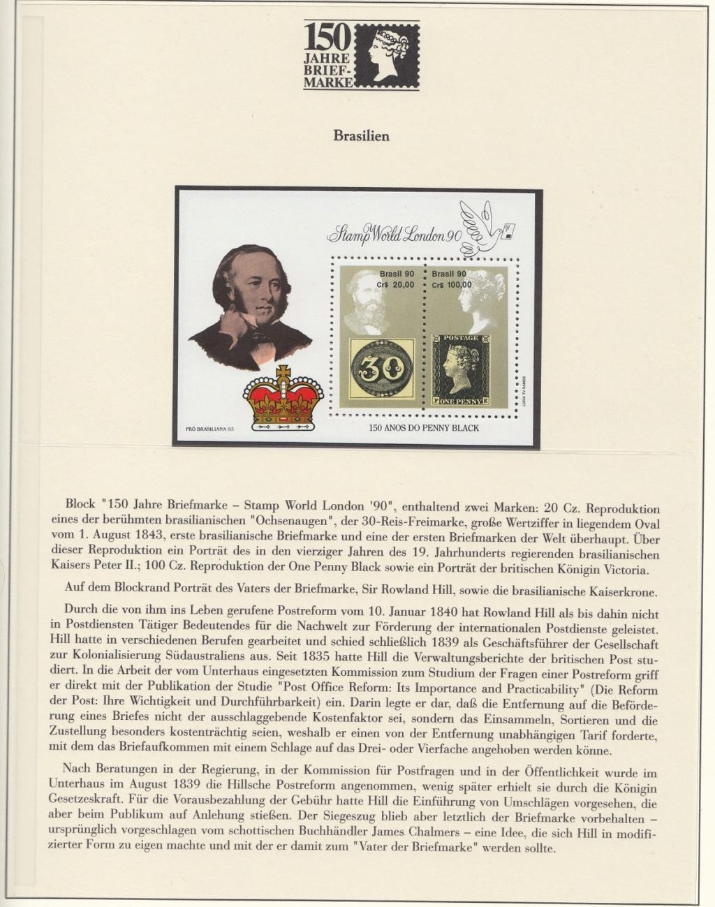 180 Jahre Briefmarke 150-1510