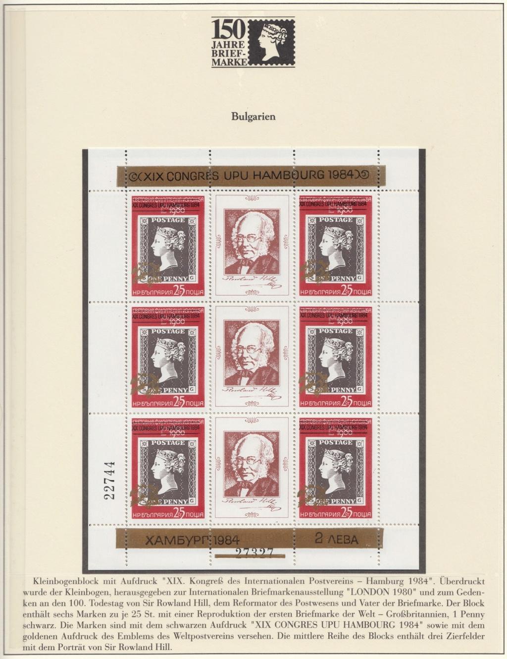 180 Jahre Briefmarke 150-1610