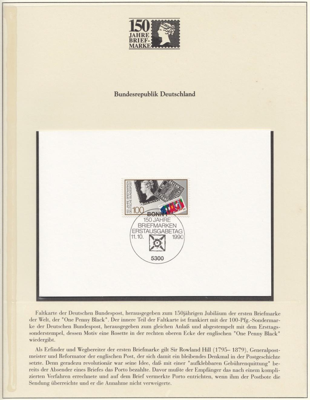 180 Jahre Briefmarke 150-2010