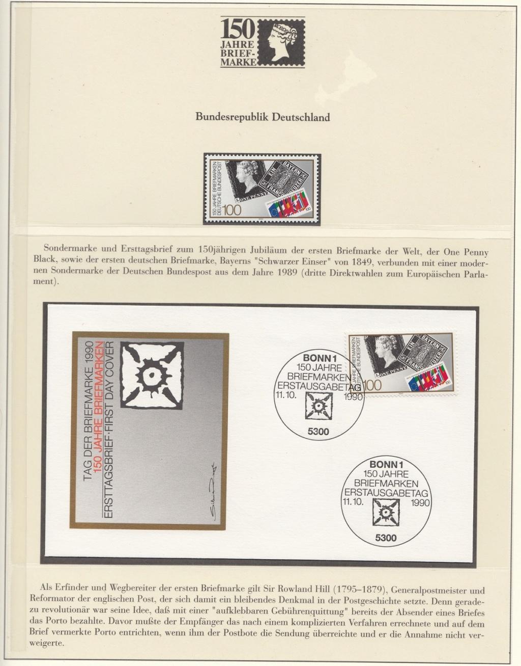 180 Jahre Briefmarke 150-2110