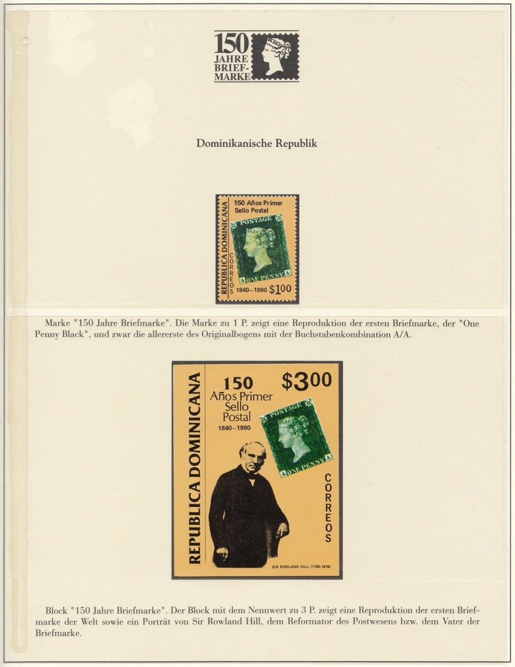 180 Jahre Briefmarke 150-2610