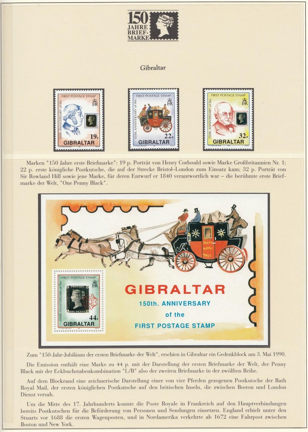 180 Jahre Briefmarke 150-2810