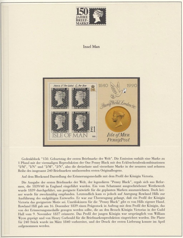 180 Jahre Briefmarke 150-3310