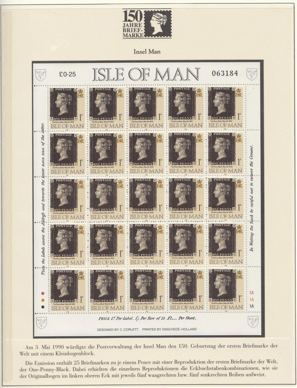 180 Jahre Briefmarke 150-3410