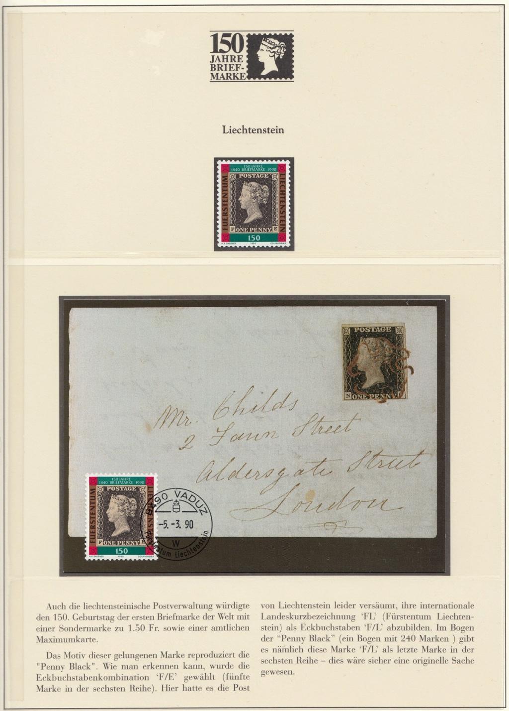 180 Jahre Briefmarke 150-3710