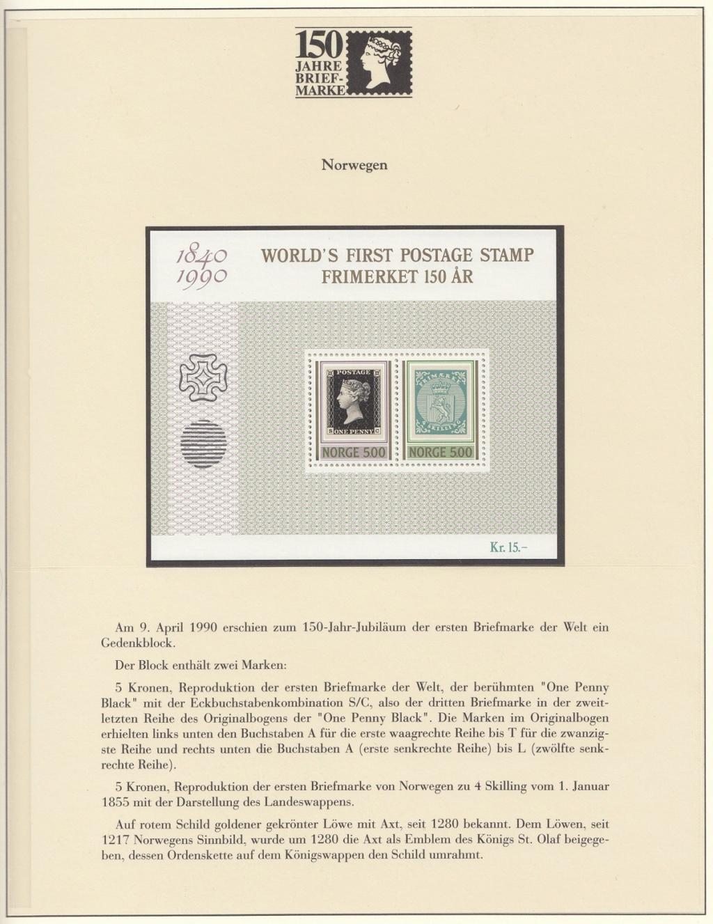 180 Jahre Briefmarke 150-4110