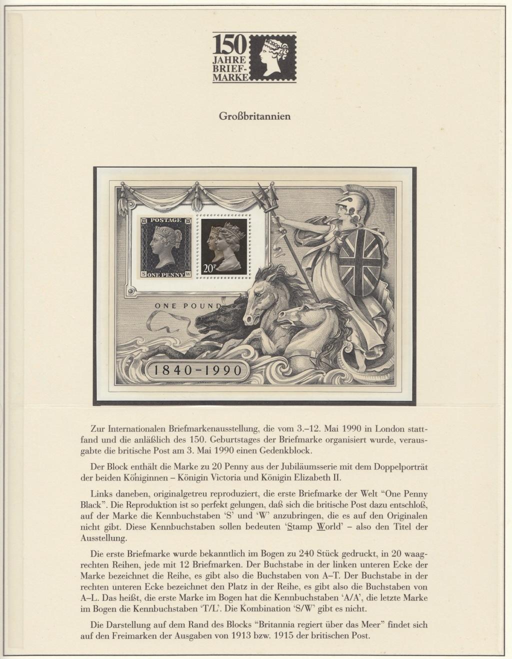 180 Jahre Briefmarke 150-610