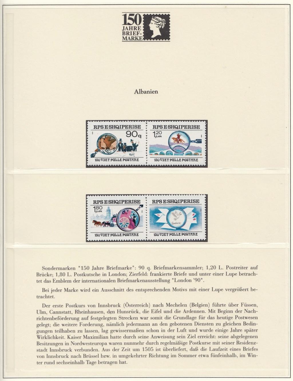 180 Jahre Briefmarke 150-710