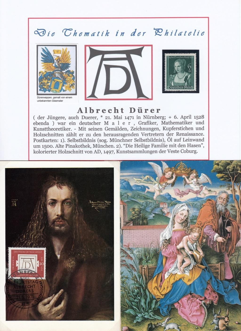 Ausstellungssammlung zum Thema Albrecht Dürer Ad1a10