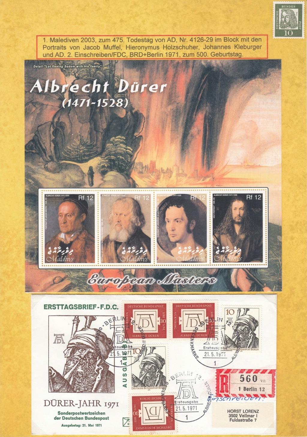 Ausstellungssammlung zum Thema Albrecht Dürer Ad1e10