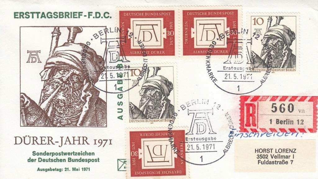 Albrecht Dürer Ad3410