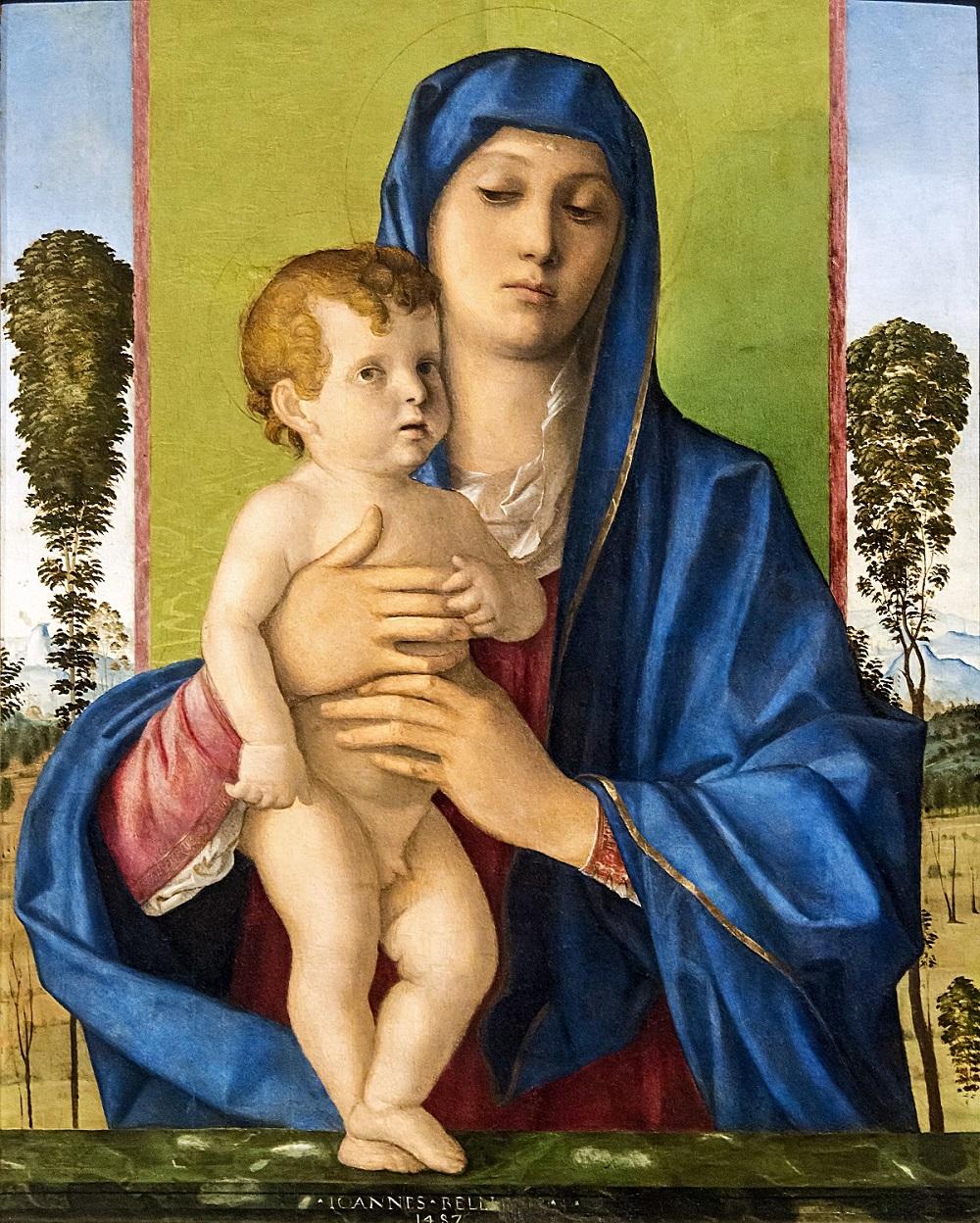 Giovanni Bellini - auch Gambellino genannt Bellin11