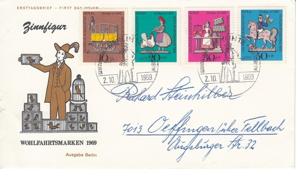 Schöne Briefe und Belege aus Berlin Berlin13