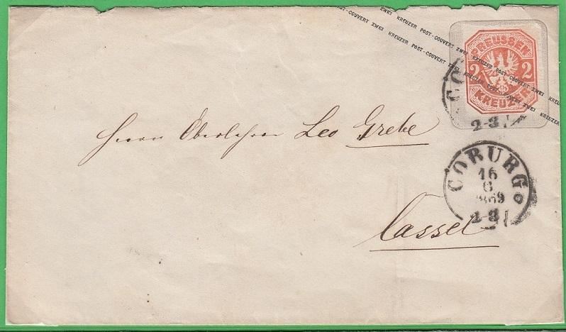Preußen  /  Markenbriefe Cb4810