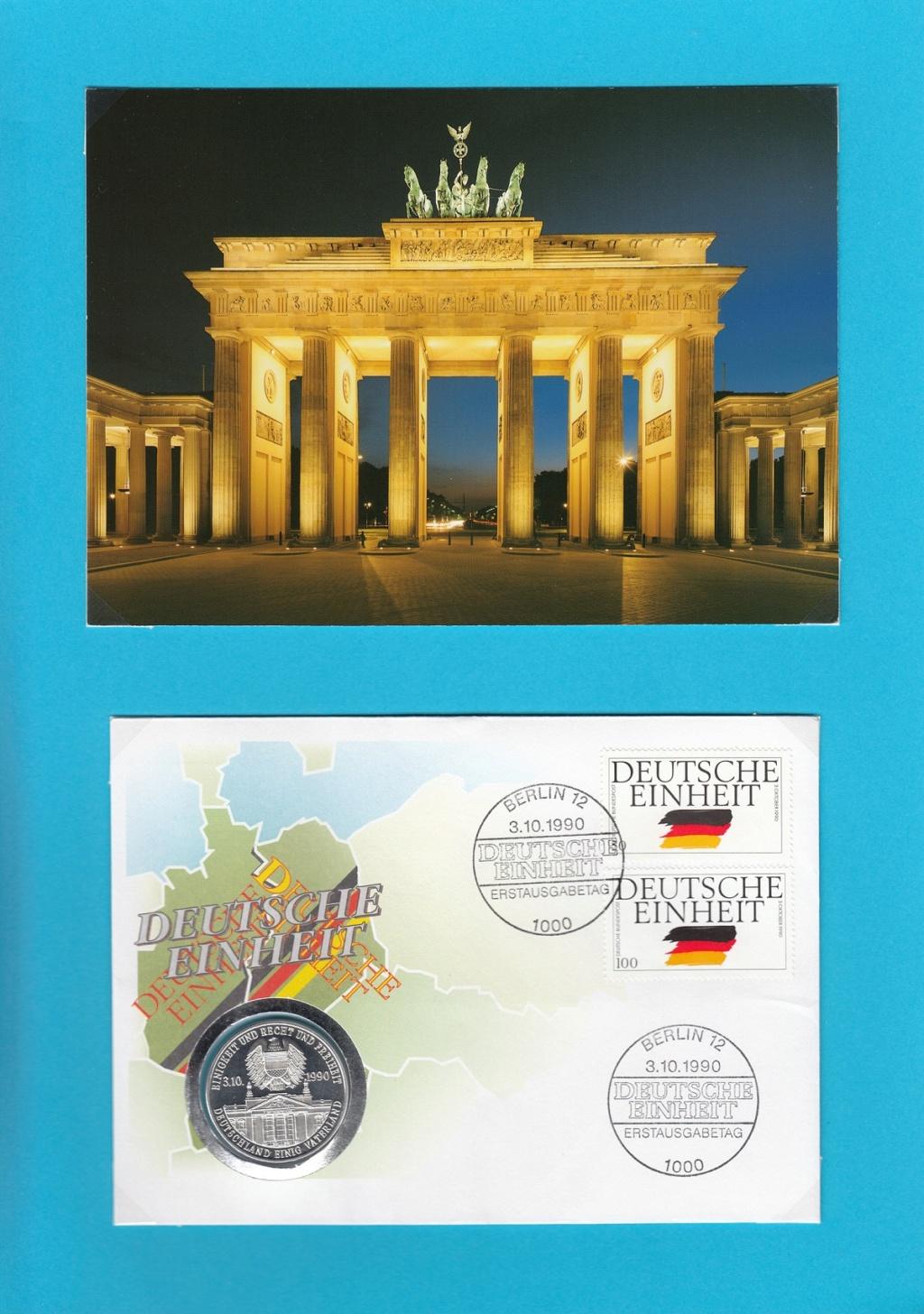Die Vereinigung von West- und Mitteldeutschland vor 30 Jahren D1210