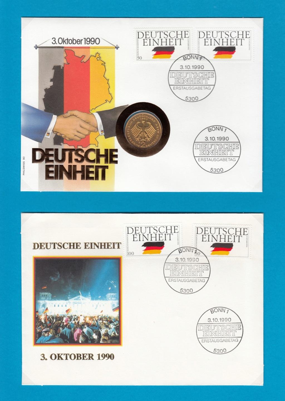 Die Vereinigung von West- und Mitteldeutschland vor 30 Jahren D1310