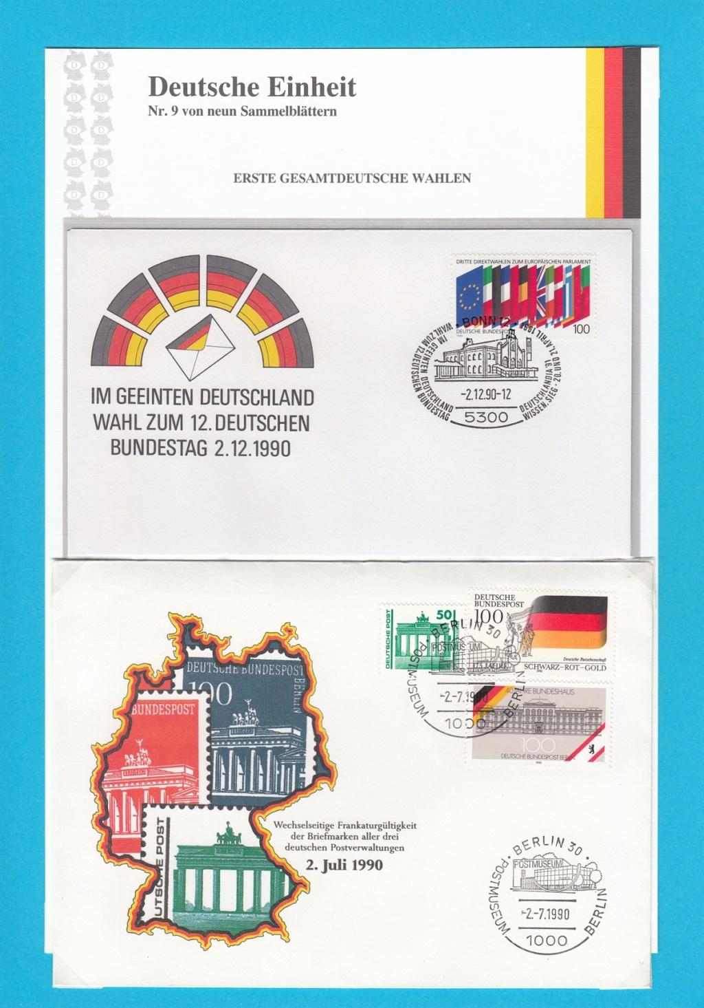 Die Vereinigung von West- und Mitteldeutschland vor 30 Jahren D1410
