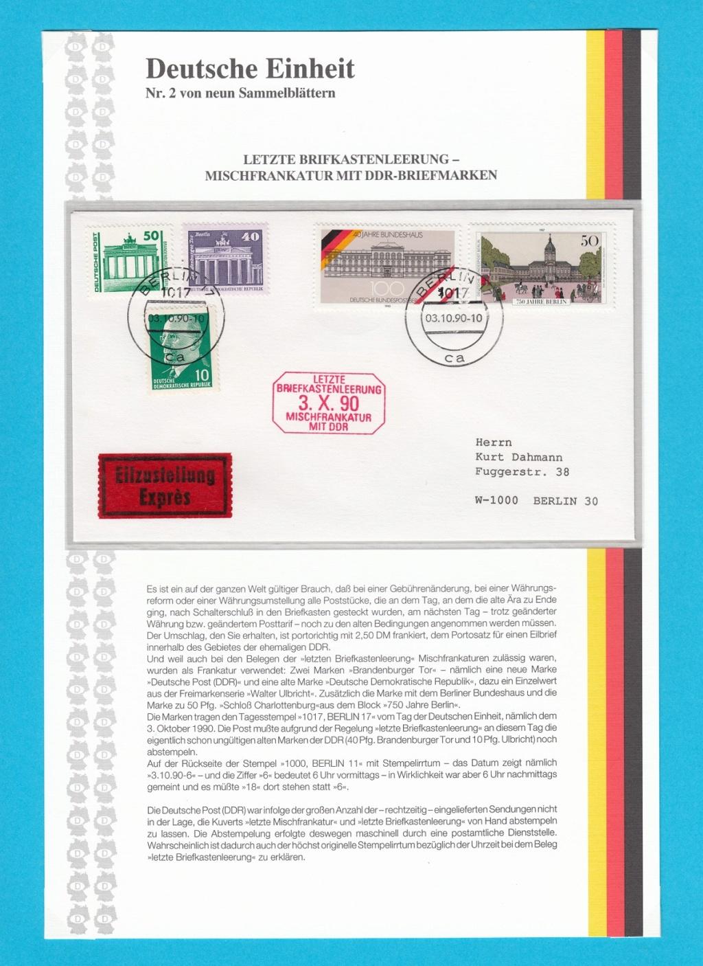 Die Vereinigung von West- und Mitteldeutschland vor 30 Jahren D1810