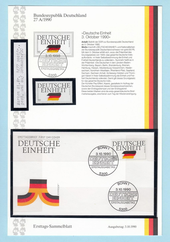 Die Vereinigung von West- und Mitteldeutschland vor 30 Jahren D2010