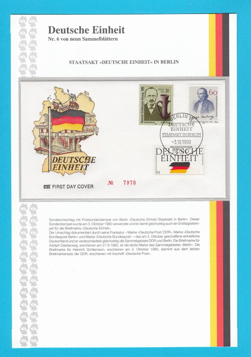 Die Vereinigung von West- und Mitteldeutschland vor 30 Jahren D2110