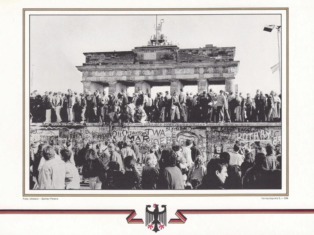 Die Vereinigung von West- und Mitteldeutschland vor 30 Jahren D2610