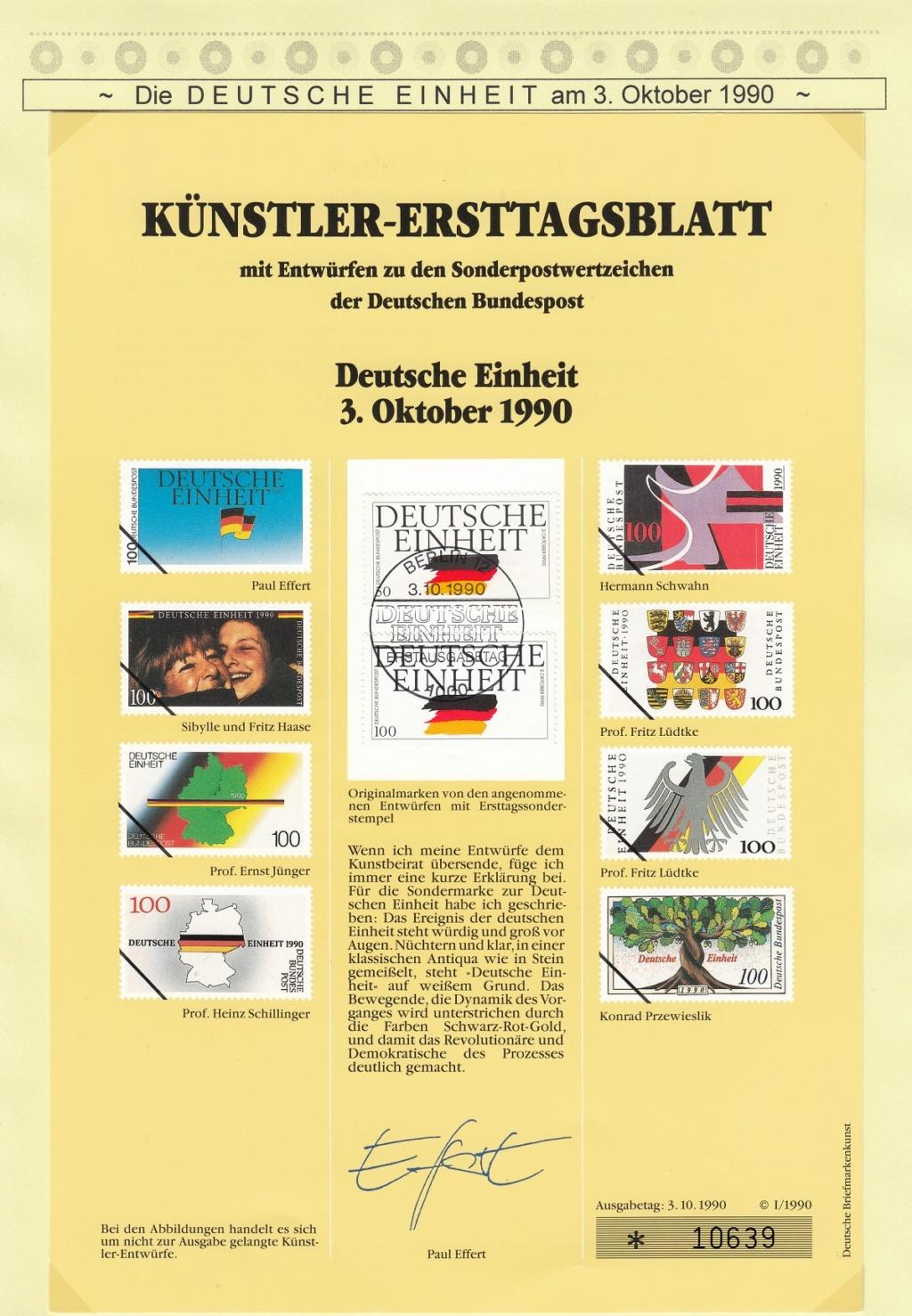 Die Vereinigung von West- und Mitteldeutschland vor 30 Jahren D2710
