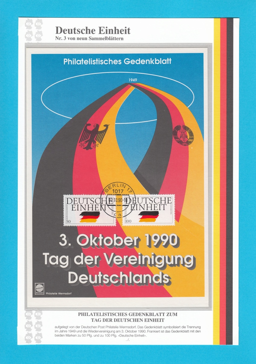 Die Vereinigung von West- und Mitteldeutschland vor 30 Jahren D310