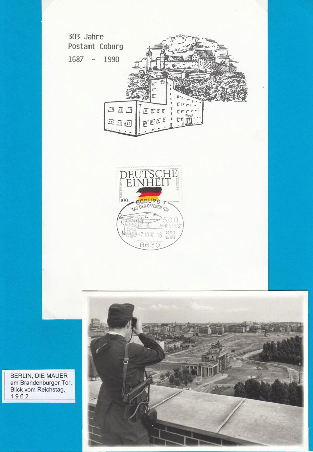 Die Vereinigung von West- und Mitteldeutschland vor 30 Jahren D3210
