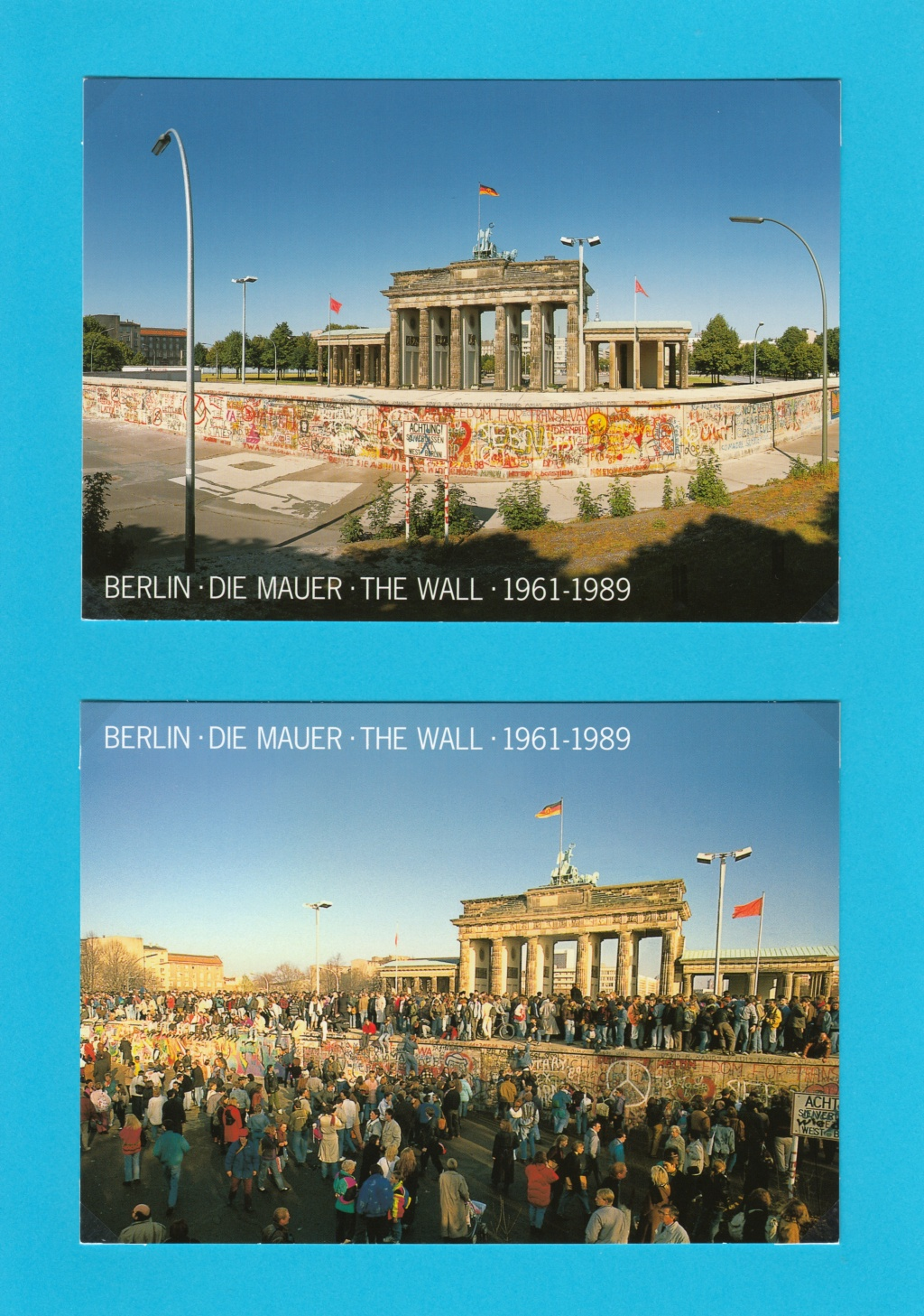 Die Vereinigung von West- und Mitteldeutschland vor 30 Jahren D410