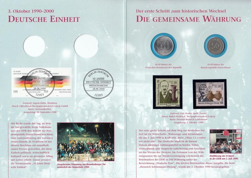 Die Vereinigung von West- und Mitteldeutschland vor 30 Jahren D910