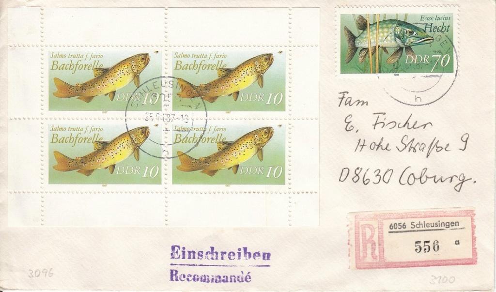 Schöne Briefe und Belege der DDR Ddra10