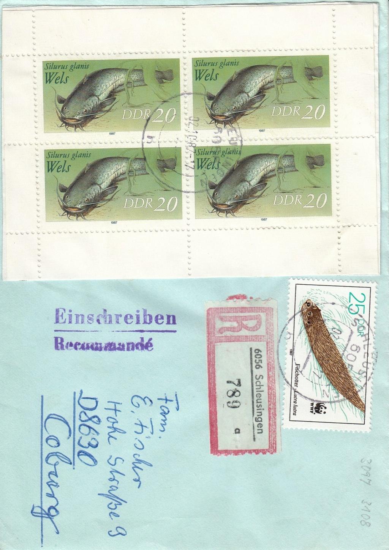 Schöne Briefe und Belege der DDR Ddrb10