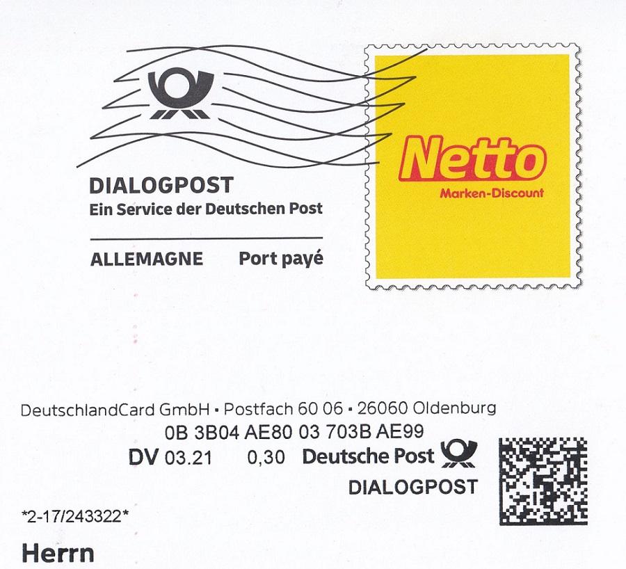 Die Dialogpost der DP Dia310