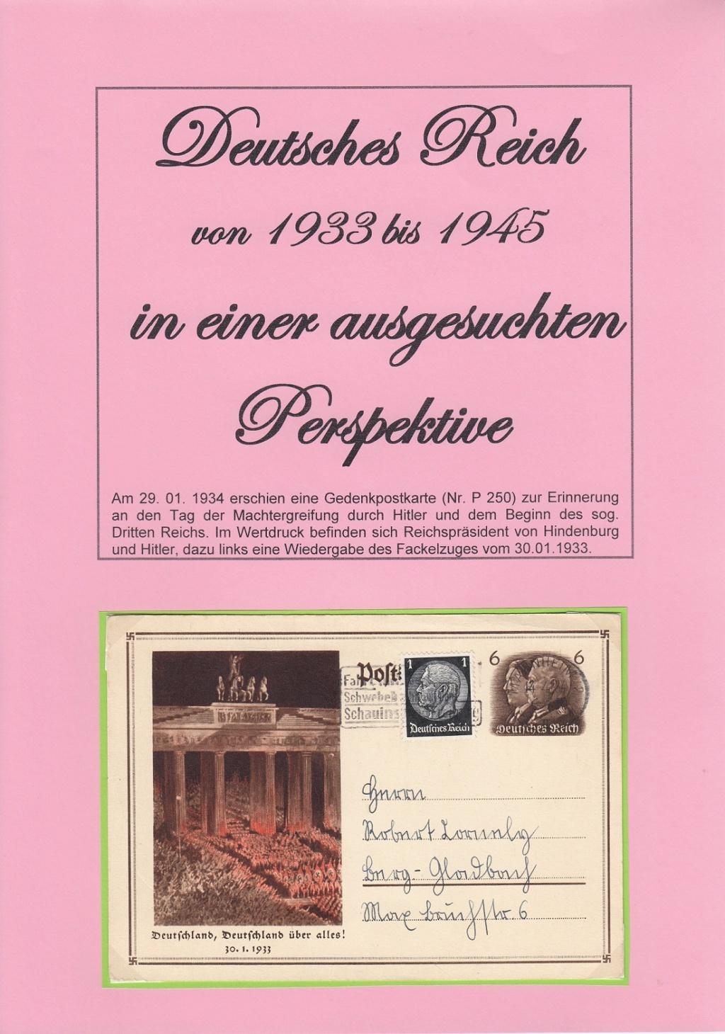 """Deutsches Reich von 1933 bis 1945 """"in einer ausgesuchten Perspektive"""" Dr-110"""