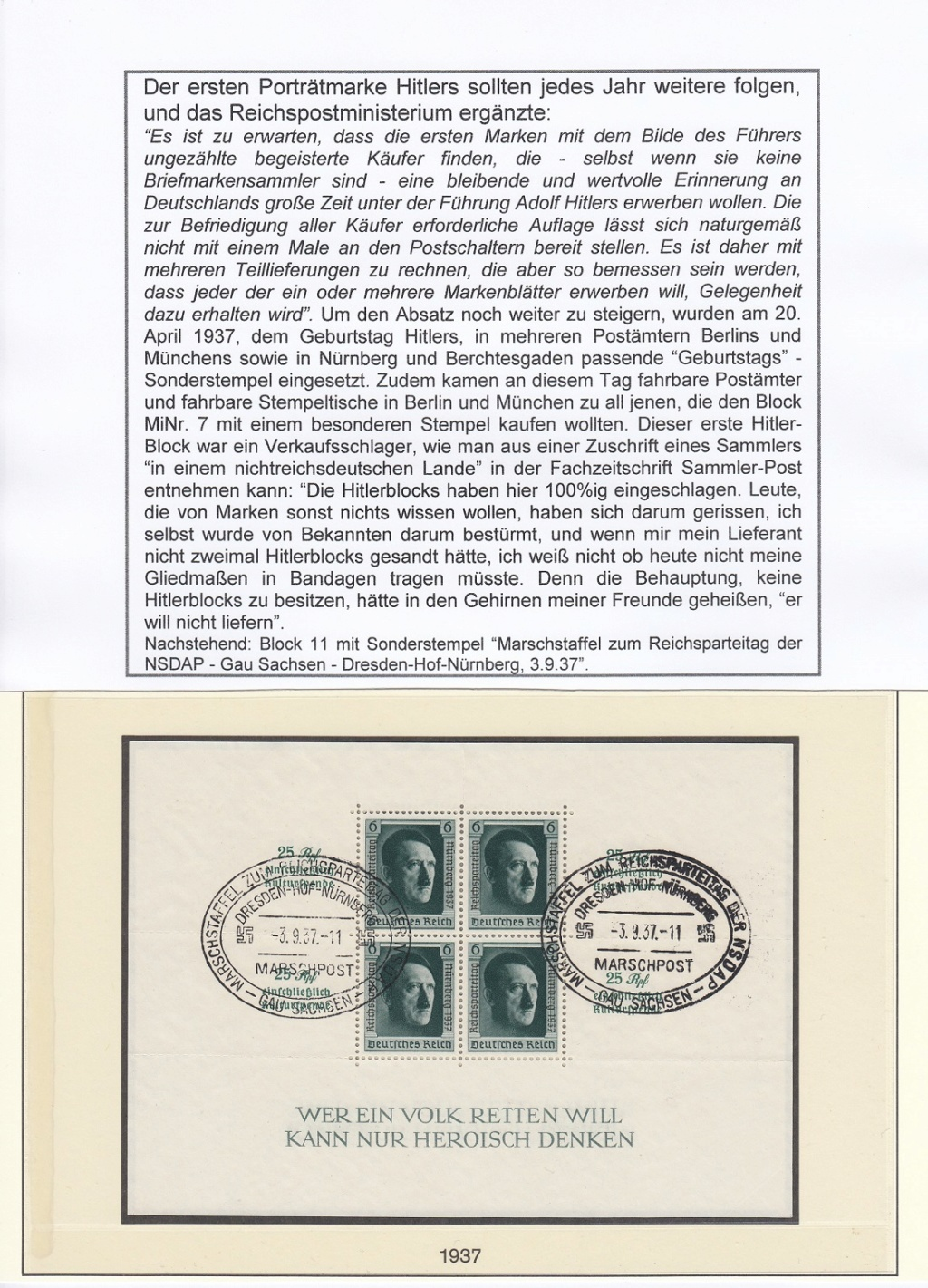 """Deutsches Reich von 1933 bis 1945 """"in einer ausgesuchten Perspektive"""" Dr-1810"""