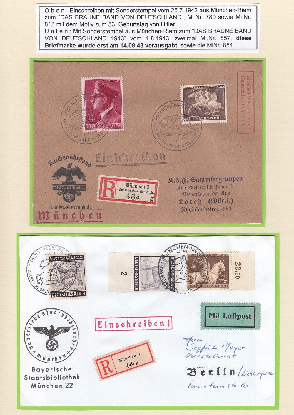"""Deutsches Reich von 1933 bis 1945 """"in einer ausgesuchten Perspektive"""" Dr-4410"""