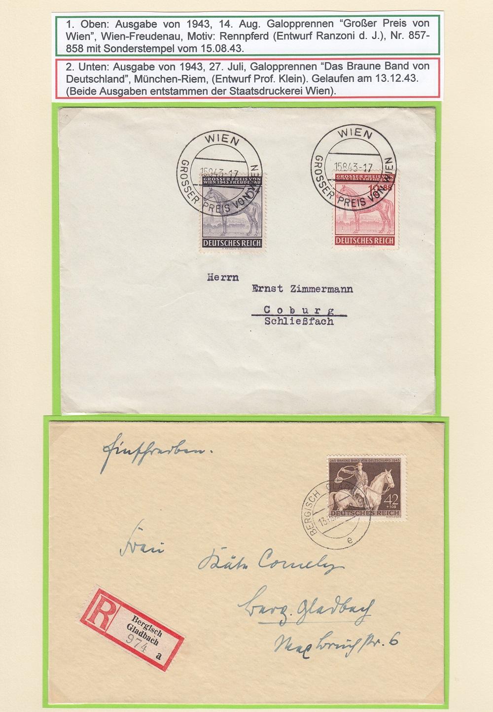 """Deutsches Reich von 1933 bis 1945 """"in einer ausgesuchten Perspektive"""" Dr-4810"""