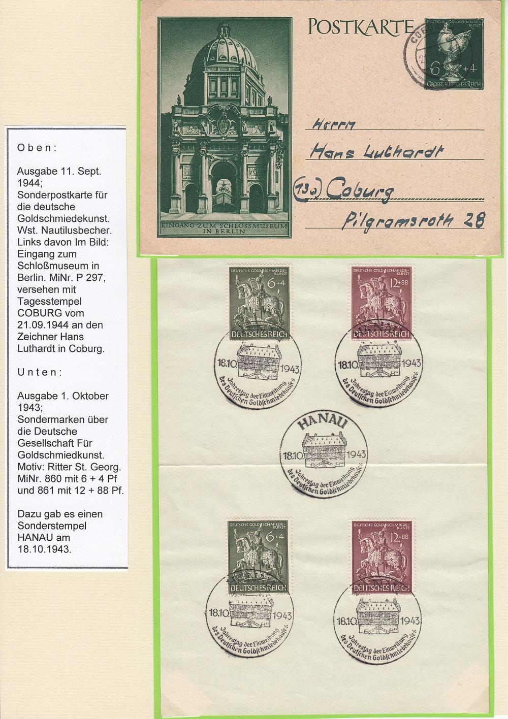 """Deutsches Reich von 1933 bis 1945 """"in einer ausgesuchten Perspektive"""" Dr-5010"""