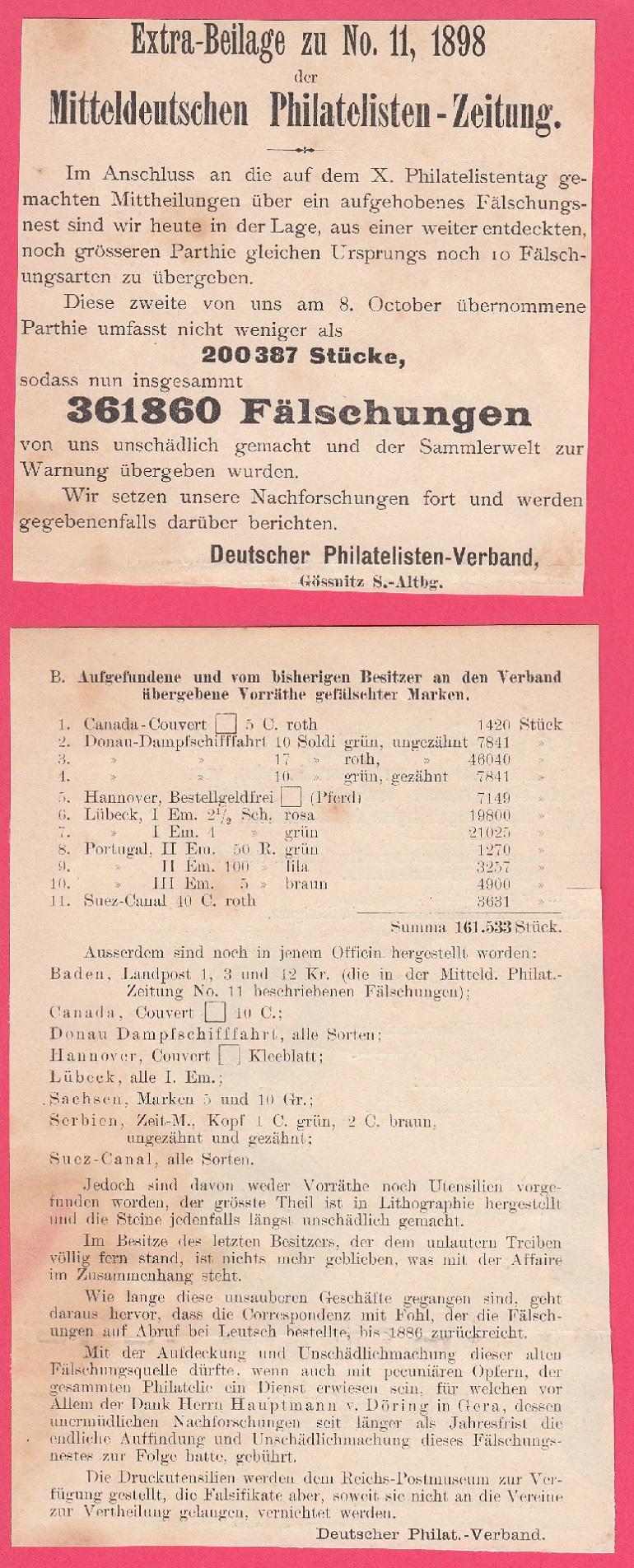 Fälschungen um das Jahr 1900 Fae110